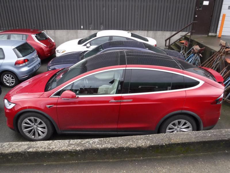 repo com 2018 tesla model x 100d awd 6 passenger electric vehicle rh repo com