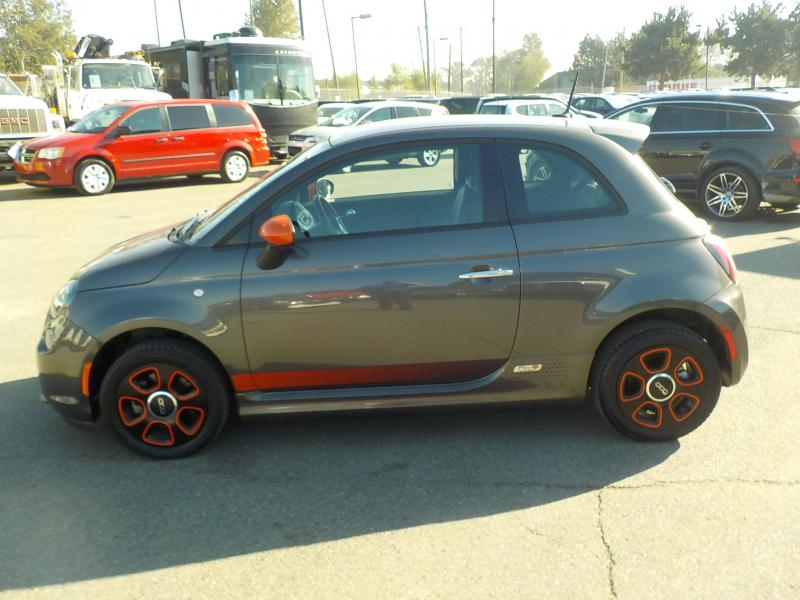 Repo 2014 Fiat 500e Battery Electric Hatchback