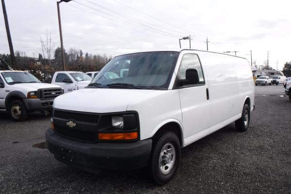 Repo Com 2008 Chevrolet Express 2500 Extended Cargo Van