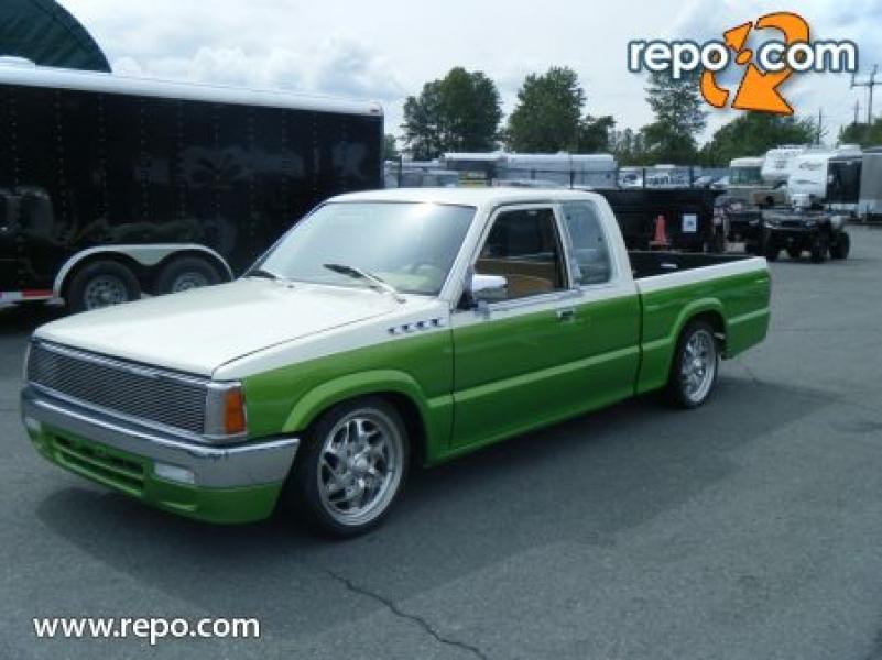 Repo Trucks For Sale >> Repo.com | 1988 Mazda B-Series B2200 Cab Lowrider