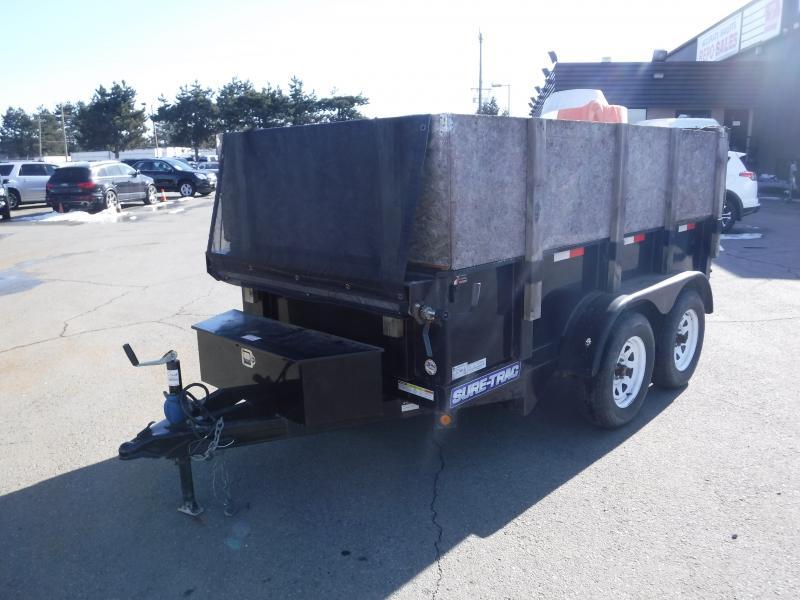 Repo com | 2015 Sure-Trac 5x10 Hydraulic Dual Axle Dump