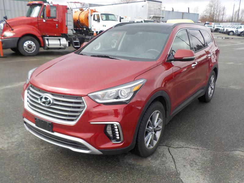 2017 hyundai santa fe xl 6 passenger luxury awd 3rd row seating. Black Bedroom Furniture Sets. Home Design Ideas